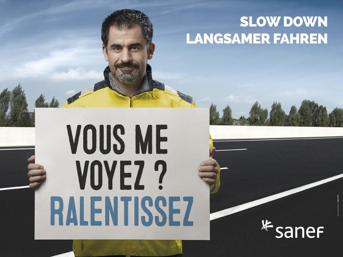 Visuel campagne sécurité du personnel Sanef