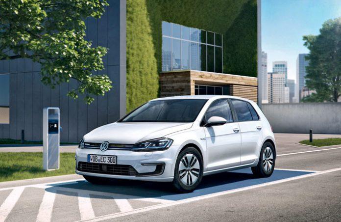 Volkswagen électrique e-Golf