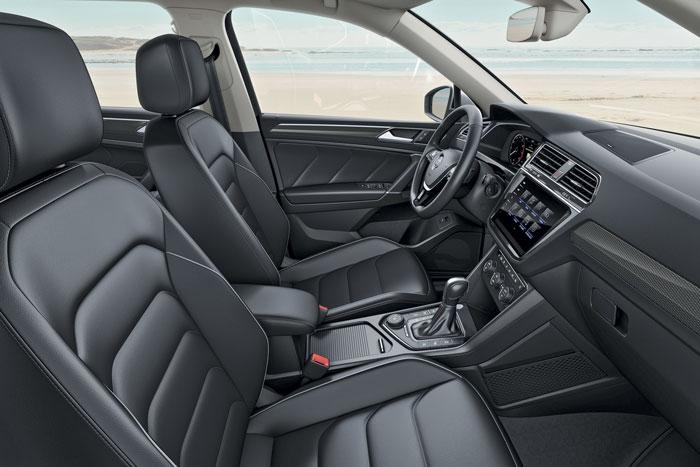 Volkswagen Tiguan Allspace habitacle
