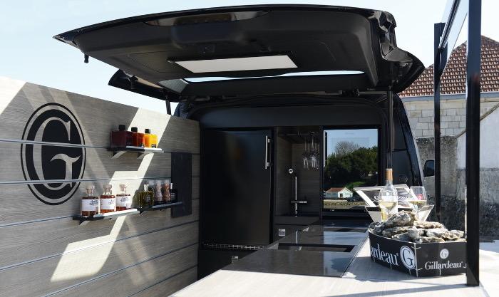 La Marcelle - Gillardeau Peugeot Food Truck interieur