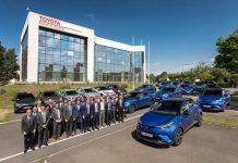 Toyota France flotte 100 % hybride