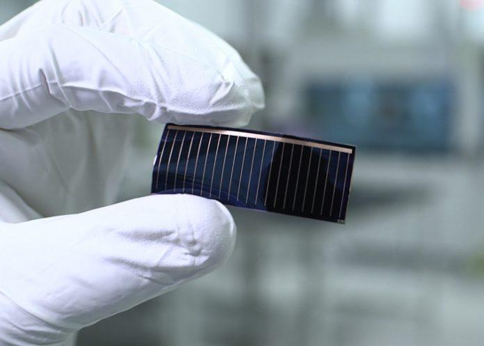 Audi Alta Devices cellule photovoltaïque