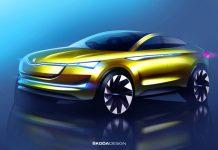 Skoda Vision E - concept car électrique et autonome