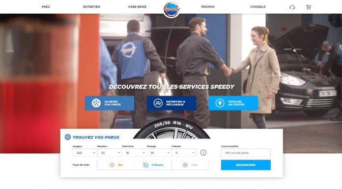 Speedy nouveau site web