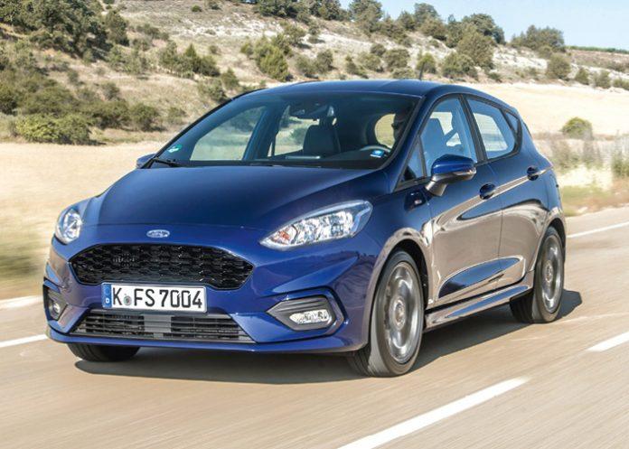 2017 Ford Fiesta ST Line Deep Impact Blue
