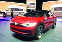 Salon de Francfort 2017 - Sur un chargeur de 150 kW, la batterie de l'I.D. Crozz de Volkswagen peut retrouver 80 % de sa charge en 30 minutes.