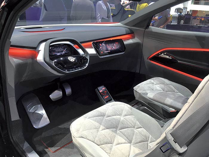 Sur l'I.D. Crozz, le système de filtration de l'air très poussé se charge de préserver l'atmosphère pour les passagers.