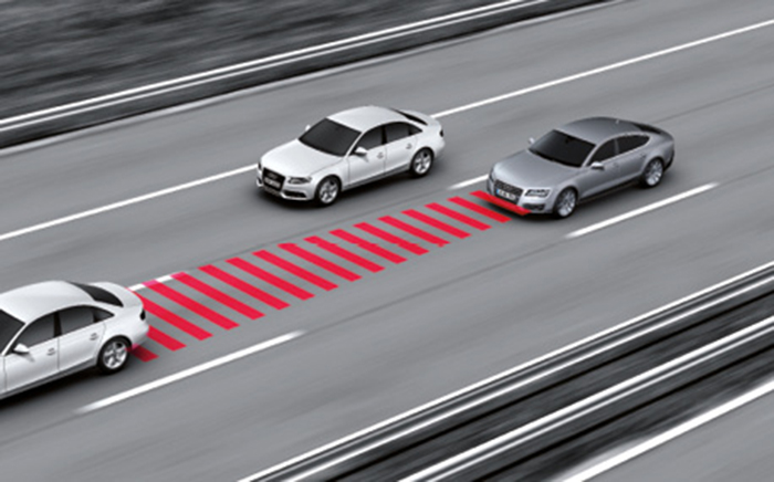 Audi pre sense front safety