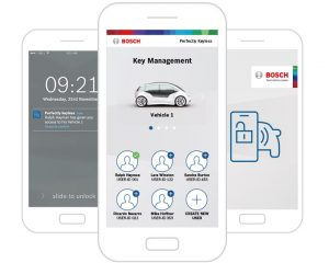 Bosch Perfectly Keyless gestion cles