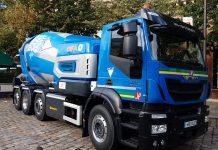 Camion toupie hybride Oxygene