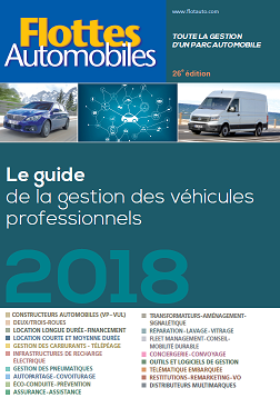 Guide Flottes Automobiles 2018 Couverture
