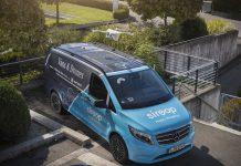 Mercedes-Benz Vans, Matternet et siroop - projet pilote livraison à la demande à Zurich - VU et drones