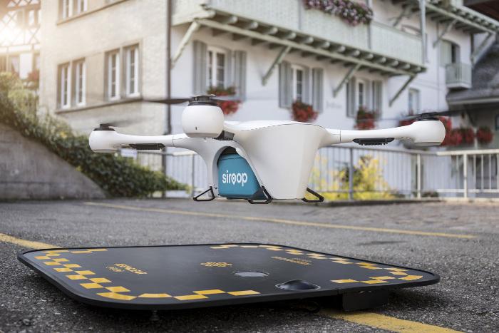 Mercedes-Benz Vans, Matternet et siroop - projet pilote livraison à la demande à Zurich vans drones