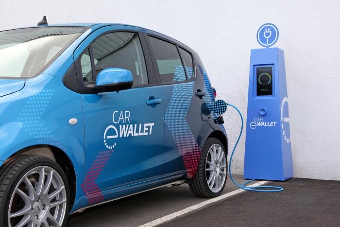 ZF Car-eWallet Recharge electrique