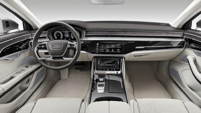 Audi A8 - habitacle