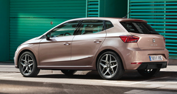 Seat Ibiza - arriere