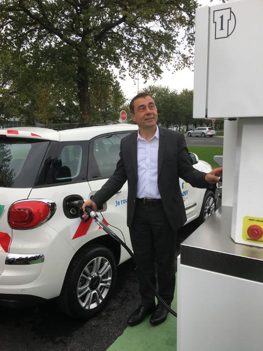 Alain Leboeuf, directeur du Syndicat départemental d'énergie et d'équipement de la Vendée (Sydev)