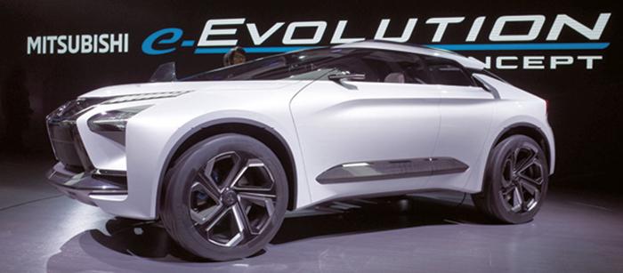 Concept e-Evolution – Mitsubishi