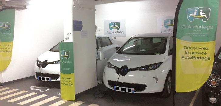 Autopartage électrique Arval