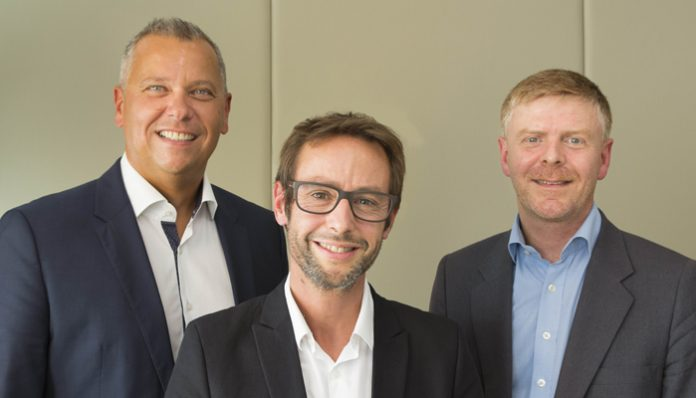 De gauche à droite : Erhard Paulat, Pascal Brasseur et Alexandre Sorel.