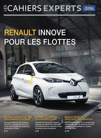 Cahiers Experts - Mobilité durable : Renault innove pour les flottes
