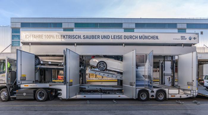 BMW logistique électrique