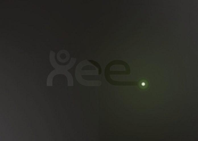 Le boîtier de Xee qui intéragit avec le Google Home