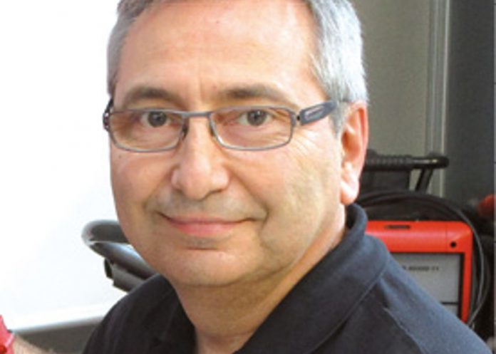 Bruno Choquel, responsable des services généraux chez Fronius