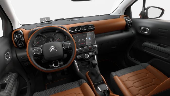 Citroën C3 Aircross tableau de bord