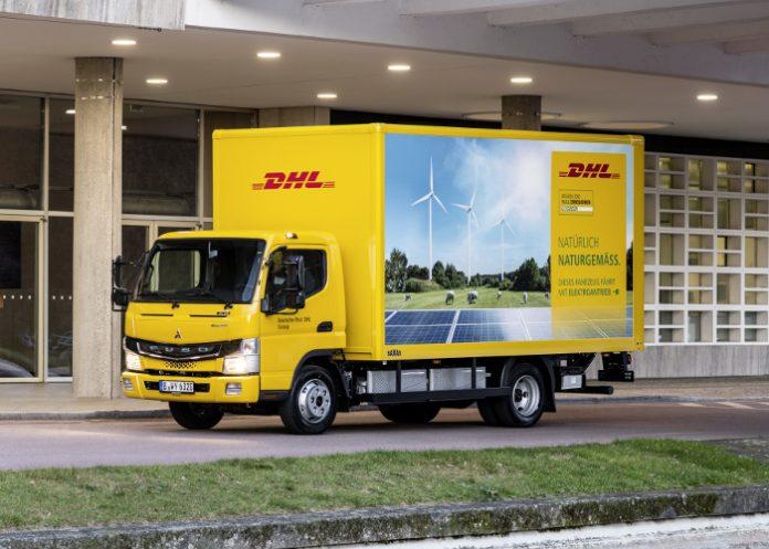 Un nouveau camion Fuso eCanter pour DHL