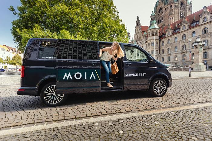 Test du concept de covoiturage de MOIA à Hanovre