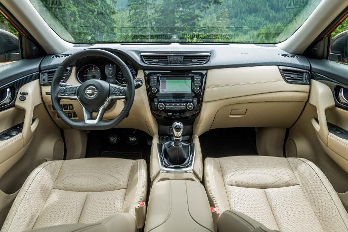 Essai automobile - Nissan X-Trail tableau de bord