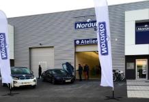 Norauto a ouvert un nouveau centre d'entretien dédié aux professionnels
