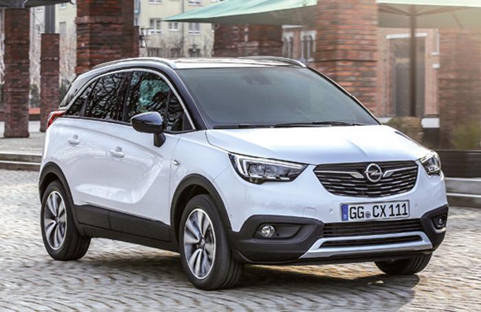 Le Crossland X d'Opel s'offre le 3-cylindres 1.2 en Ecotec Turbo de 110 ch à 109 g (à partir de 19 850 euros), de 130 ch à 116 g (à partir de 22 700 euros), et la version atmosphérique de 81 ch à 116 g (à partir de 18 350 euros).