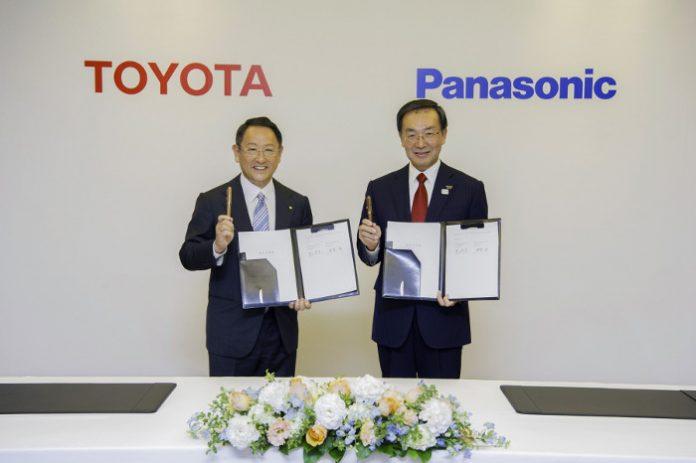 Toyota Panasonic accord coentreprise batteries