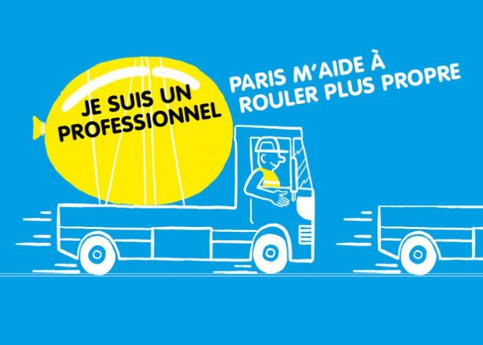 Ville Paris - aides vehicules propres professionnels