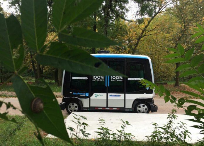 Véhicules autonomes Paris : Expérimentation de navette autonome dans le Bois de Vincennes