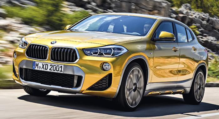 Modèles 2018 SUV - BMW X2