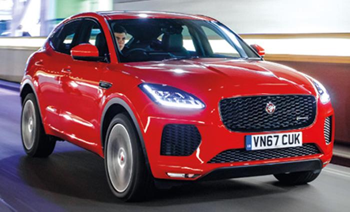 Modèles 2018 SUV - Jaguar E-pace