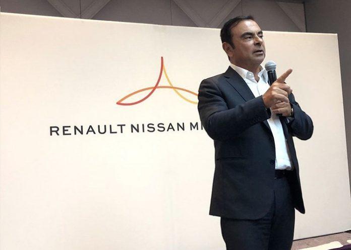 Carlos Ghosn, P-DG de Renault-Nissan-Mitsubishi
