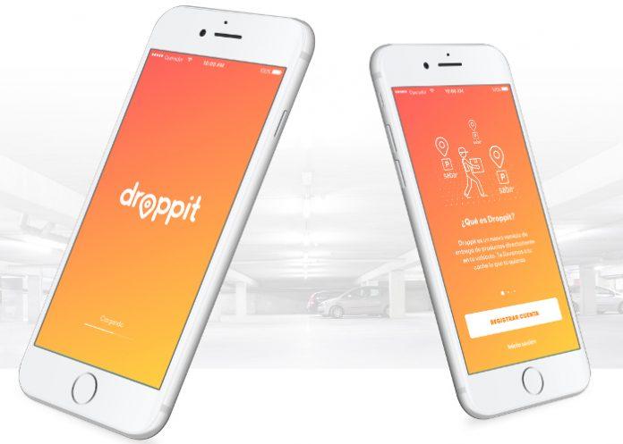 Droppit est une nouvelle application permettant de se faire livrer ses courses directement dans sa voiture