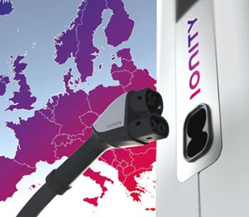 Infrastructures de recharge : le réseau européen IONITY