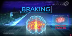 Nissan Brain-to-Vehicle Technology Braking
