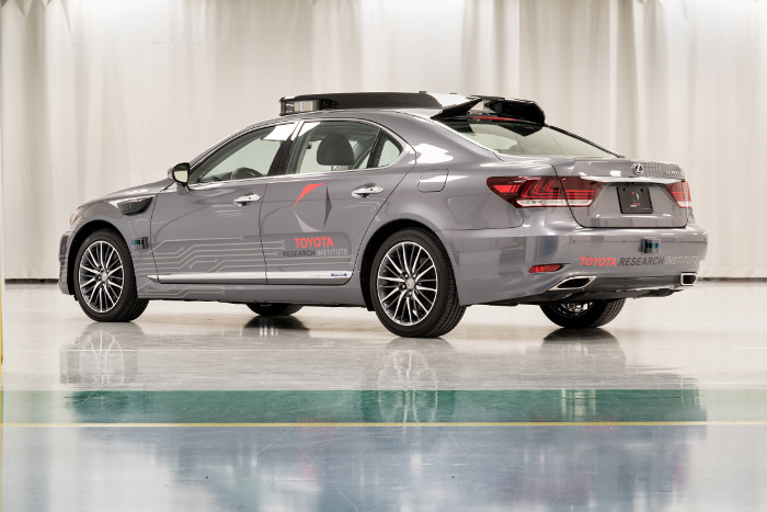 Toyota CES autonome
