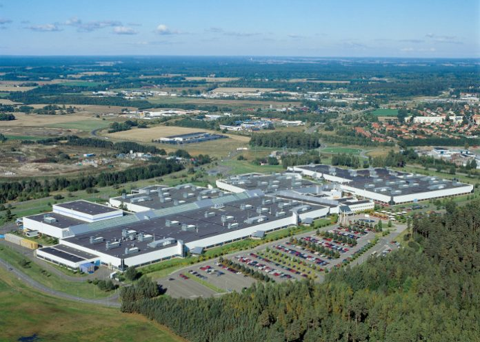 Volvo Motorenwerk in Skövde/Schweden