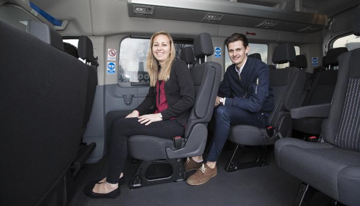Chariot, le service de navettes partagées de Ford Smart Mobility