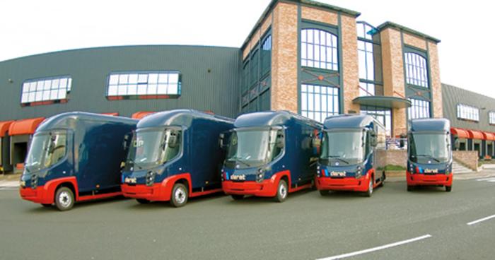 … le transporteur Deret possède notamment 54 camions électriques de 5,5 t …