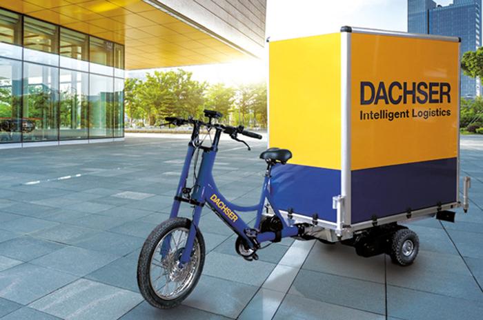 Dernier kilomètre : Dachser multiplie les pistes de travail avec son projet européen CityDistribution. Le transporteur teste ainsi des triporteurs et des vélos à assistance électrique (VAE) sur une longue durée à Rennes, Paris et Stuttgart, mais aussi à Berlin.