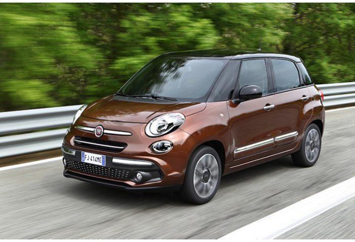 Gammes 2018 Fiat - Fiat 500L