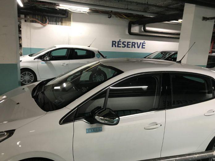 Flotte autopartage Credit Agricole Ubeeqo